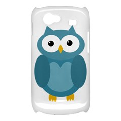 Cute blue owl Samsung Galaxy Nexus S i9020 Hardshell Case