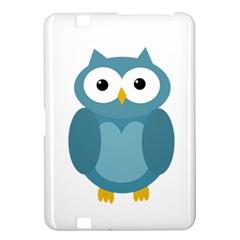 Cute blue owl Kindle Fire HD 8.9