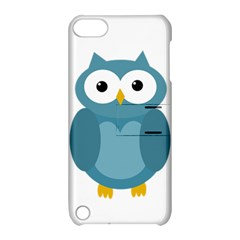 Cute blue owl Apple iPod Touch 5 Hardshell Case with Stand