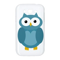 Cute blue owl Samsung Galaxy Grand DUOS I9082 Hardshell Case