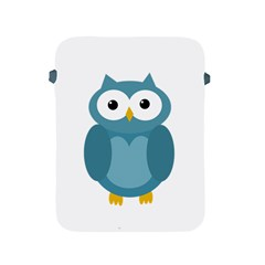 Cute blue owl Apple iPad 2/3/4 Protective Soft Cases