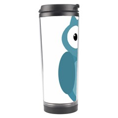 Cute blue owl Travel Tumbler