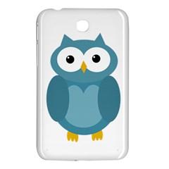 Cute blue owl Samsung Galaxy Tab 3 (7 ) P3200 Hardshell Case