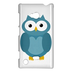 Cute blue owl Nokia Lumia 720