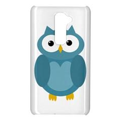 Cute blue owl LG G2