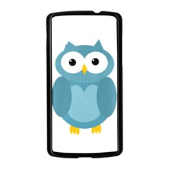 Cute blue owl Nexus 5 Case (Black)