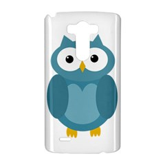 Cute blue owl LG G3 Hardshell Case