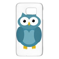 Cute blue owl Galaxy S6