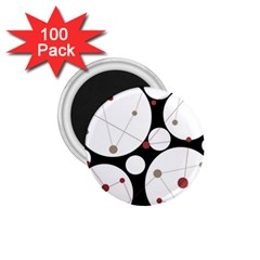 Decorative circles 1.75  Magnets (100 pack)