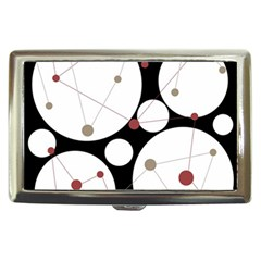Decorative circles Cigarette Money Cases