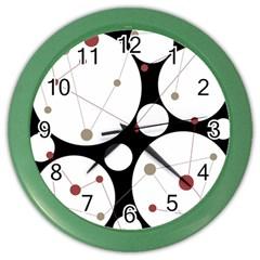 Decorative circles Color Wall Clocks