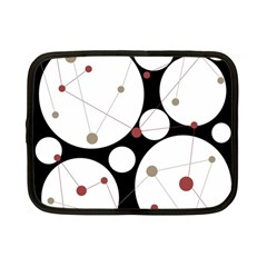 Decorative circles Netbook Case (Small)