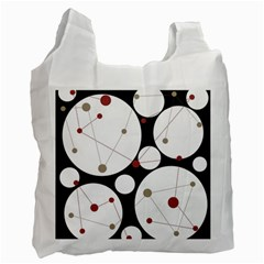 Decorative circles Recycle Bag (Two Side)