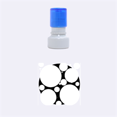 Decorative circles Rubber Round Stamps (Small)