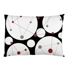 Decorative circles Pillow Case (Two Sides)