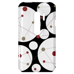 Decorative circles HTC Evo 3D Hardshell Case