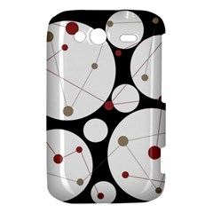 Decorative circles HTC Wildfire S A510e Hardshell Case