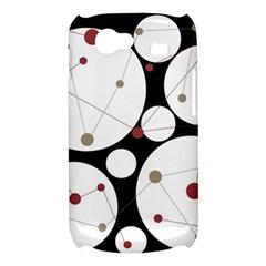 Decorative circles Samsung Galaxy Nexus S i9020 Hardshell Case