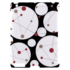 Decorative circles Apple iPad 2 Hardshell Case (Compatible with Smart Cover)
