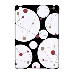Decorative circles Apple iPad Mini Hardshell Case (Compatible with Smart Cover)