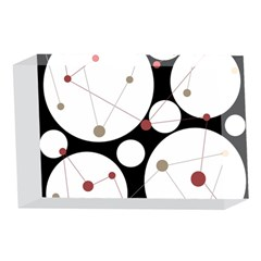 Decorative circles 4 x 6  Acrylic Photo Blocks