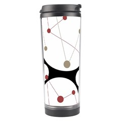 Decorative circles Travel Tumbler