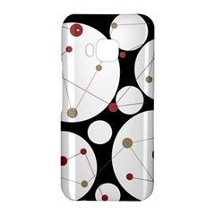 Decorative circles HTC One M9 Hardshell Case