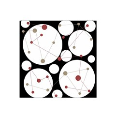 Decorative circles Satin Bandana Scarf