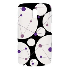 Decorative circles - purple Samsung Galaxy Nexus i9250 Hardshell Case