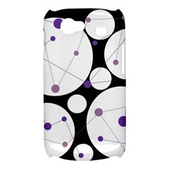 Decorative circles - purple Samsung Galaxy Nexus S i9020 Hardshell Case