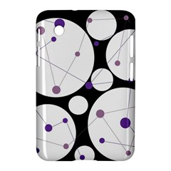 Decorative circles - purple Samsung Galaxy Tab 2 (7 ) P3100 Hardshell Case
