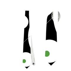 Decorative circles - green Neckties (One Side)