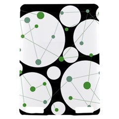 Decorative circles - green Kindle Touch 3G