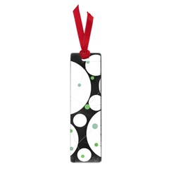 Decorative circles - green Small Book Marks