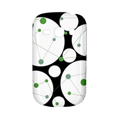Decorative circles - green Samsung Galaxy S6810 Hardshell Case