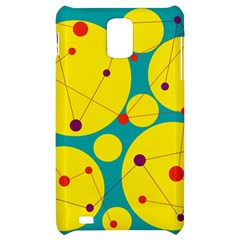 Yellow and green decorative circles Samsung Infuse 4G Hardshell Case