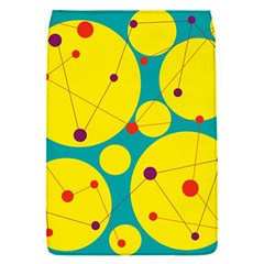 Yellow and green decorative circles Flap Covers (S)