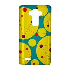 Yellow And Green Decorative Circles Lg G4 Hardshell Case