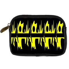 Yellow abstract pattern Digital Camera Cases
