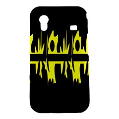 Yellow abstract pattern Samsung Galaxy Ace S5830 Hardshell Case