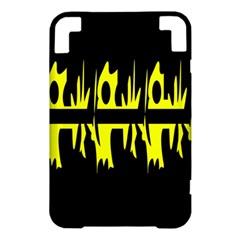 Yellow abstract pattern Kindle 3 Keyboard 3G