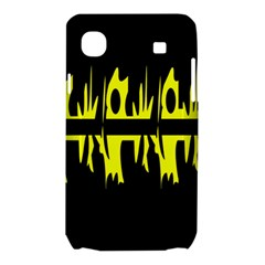 Yellow abstract pattern Samsung Galaxy SL i9003 Hardshell Case