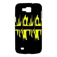 Yellow abstract pattern Samsung Galaxy Premier I9260 Hardshell Case