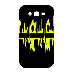 Yellow abstract pattern Samsung Galaxy Grand DUOS I9082 Hardshell Case