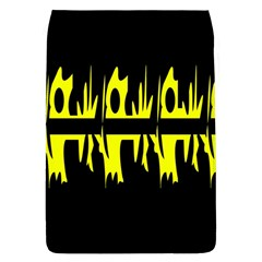 Yellow abstract pattern Flap Covers (L)