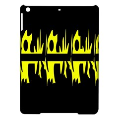 Yellow abstract pattern iPad Air Hardshell Cases