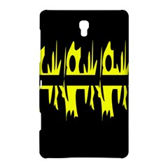 Yellow abstract pattern Samsung Galaxy Tab S (8.4 ) Hardshell Case