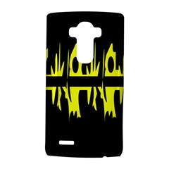 Yellow abstract pattern LG G4 Hardshell Case