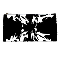 Black and white pattern Pencil Cases