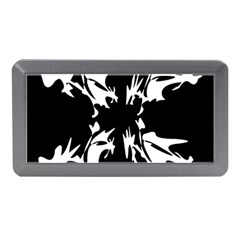 Black and white pattern Memory Card Reader (Mini)